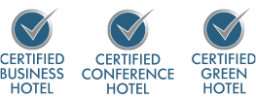 Certified Business Hotel, Certified Conference Hotel, Certified Green Hotel